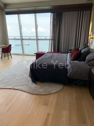 Huge Master Room with Sea Front view