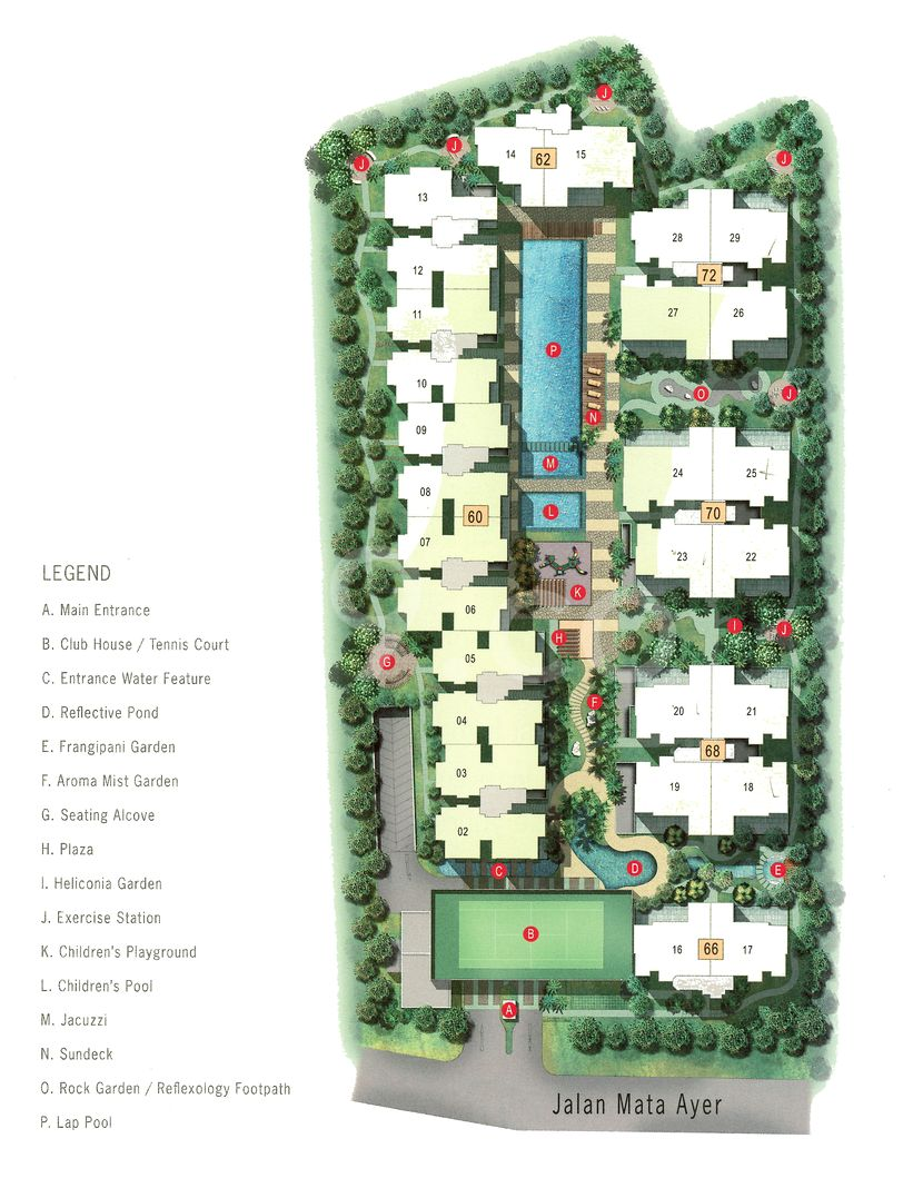 Northwood Condo Site Plan by Uic Investment Pte Ltd