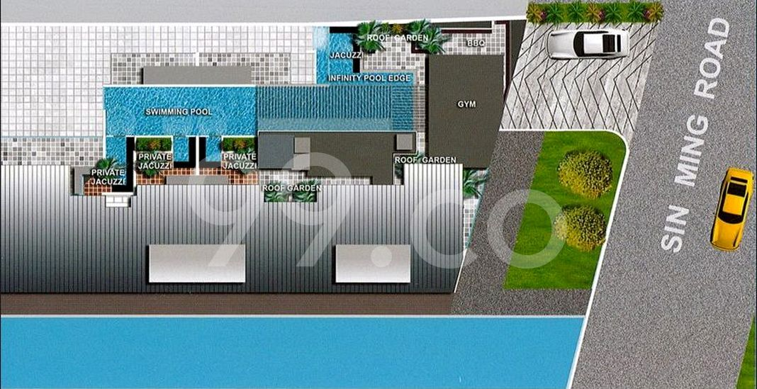 Thomson V One Condo Site Plan in Bishan by Macly Assets Pte Ltd