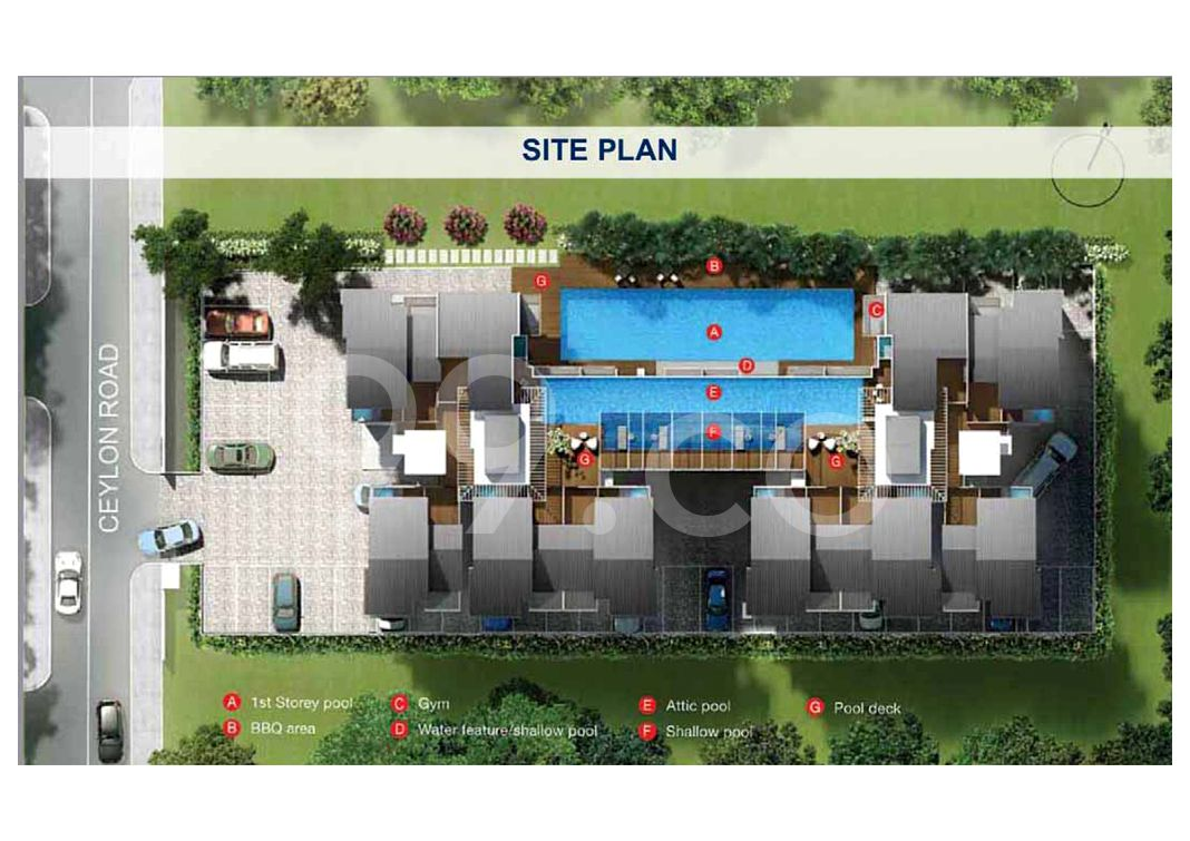 Leville Isuites Condo Site Plan in Marine Parade by I @ East Pte Ltd