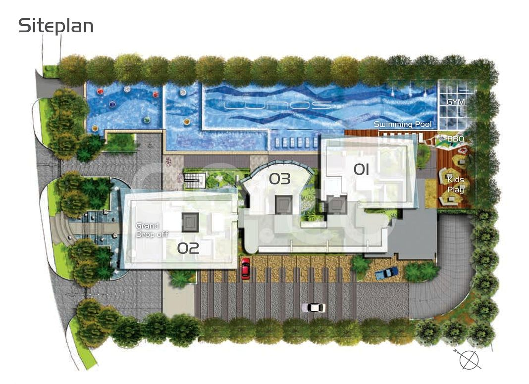 The Lumos Condo Site Plan in River Valley by Buildhome Pte Ltd (Koh Brothers Development Pte Ltd, Heeton Holdings Ltd)