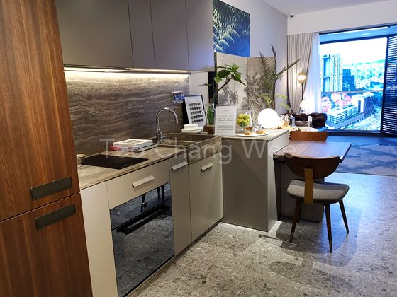 One Pearl Bank Showflat 1 bedroom. Call Teo Chang Wee @ +65 98534284