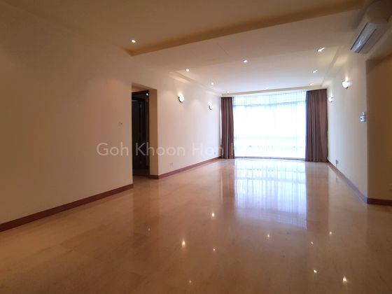 Spacious Living + Dining Area...