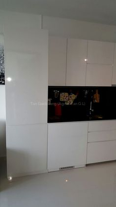 Extra storage cabinet built-in