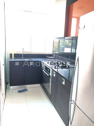 Finished kitchen with service yard and wc
