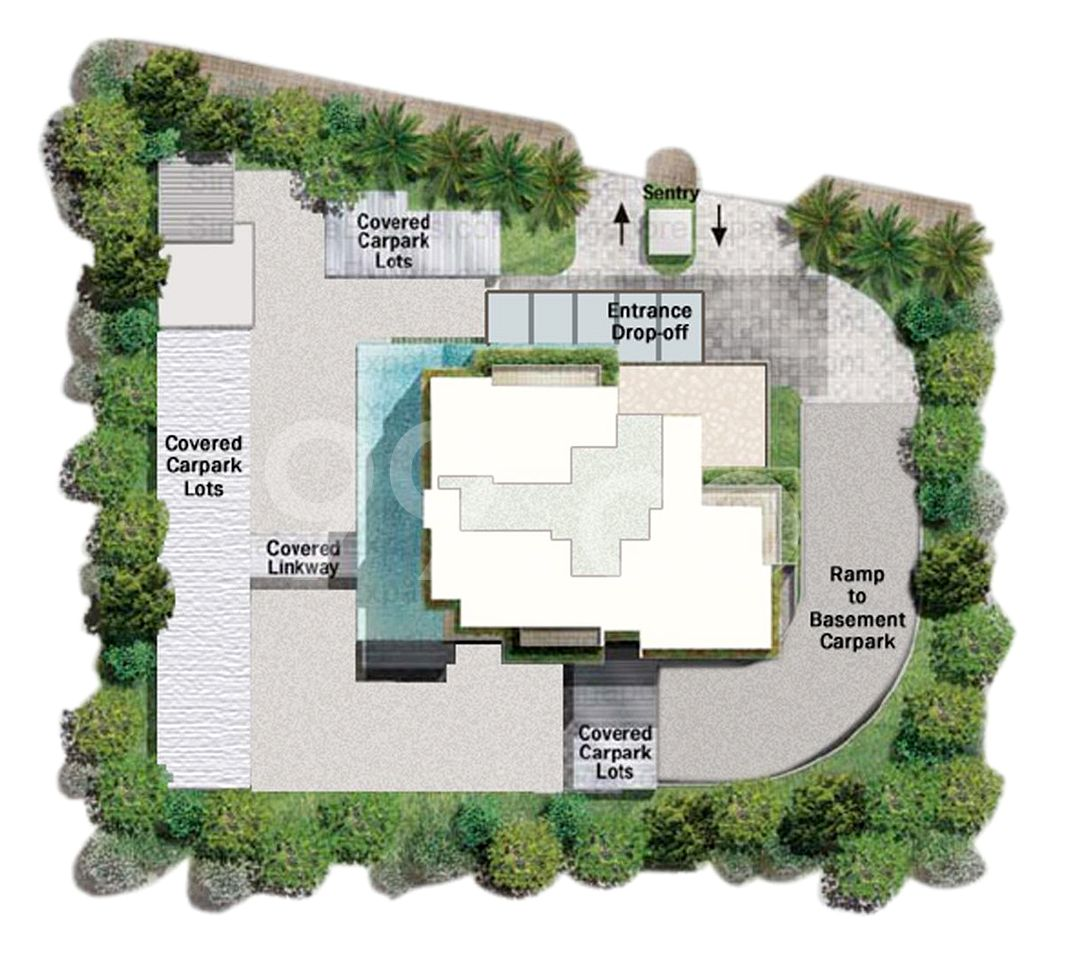 Luma Condo Site Plan in River Valley by Novelty Holdings Pte Ltd