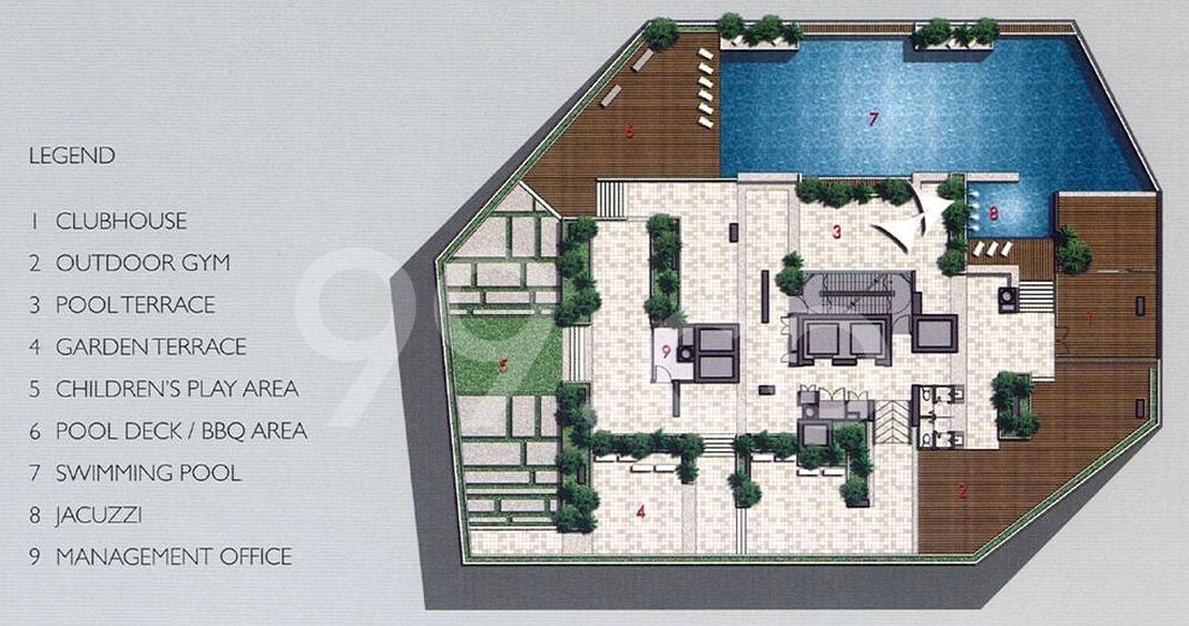 Domus Condo Site Plan in Novena by Lakeview Investment Pte Ltd
