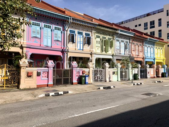 Colourful shophouses and rich heritage