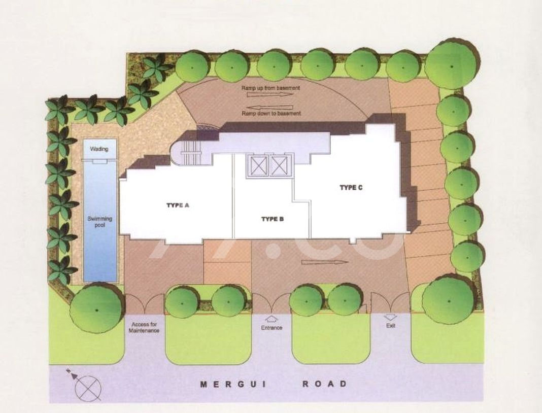 Clydes Residence Condo Site Plan in Kallang by Clydesbuilt Development Pte Ltd