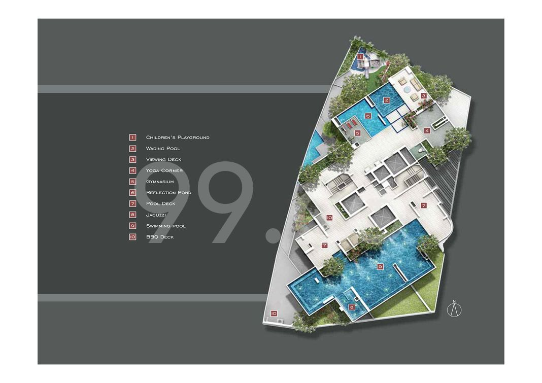 Starlight Suites Condo Site Plan in River Valley by Meadows Property (S'pore) Pte Ltd