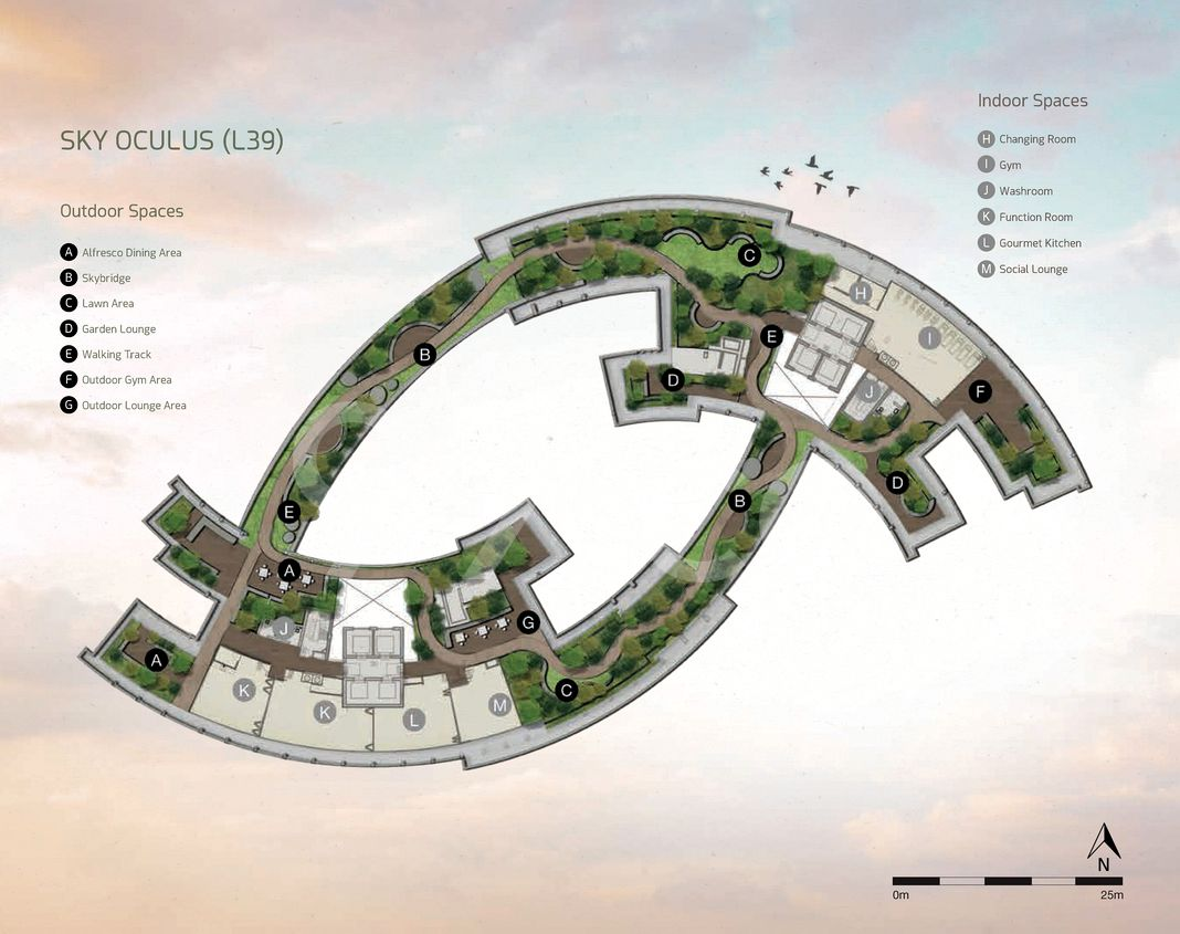 One Pearl Bank Condo Site Plan by CapitaLand