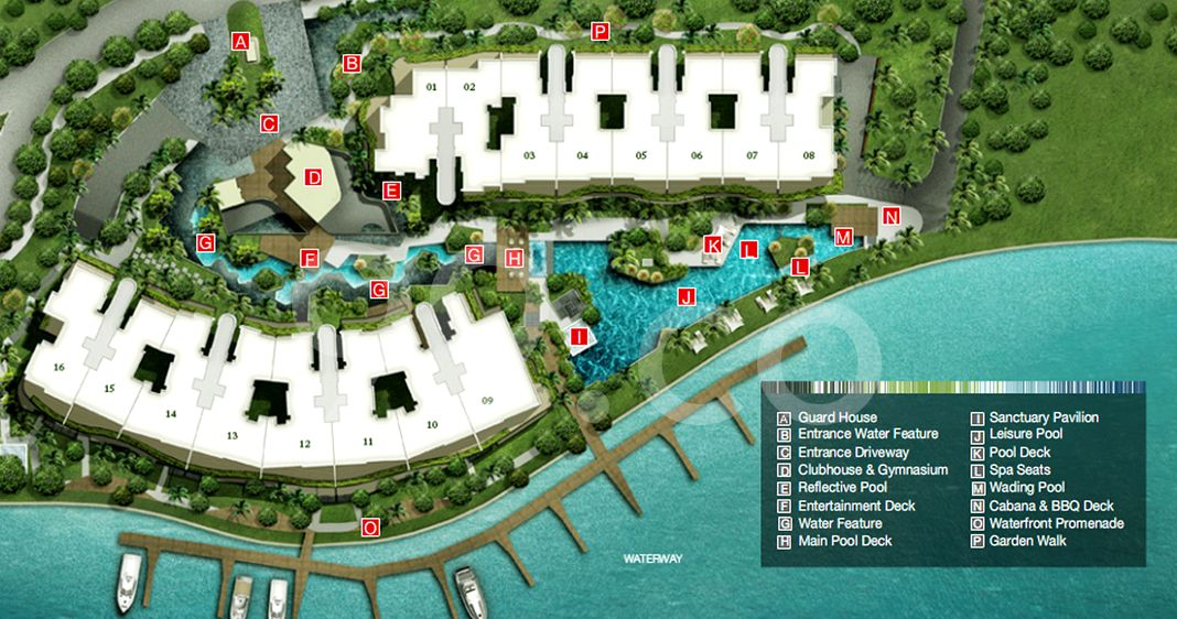 Turquoise Condo Site Plan by Ho Bee Cove Pte Ltd