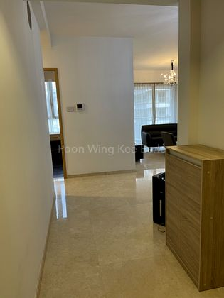 Entrance to Living & Dining Area