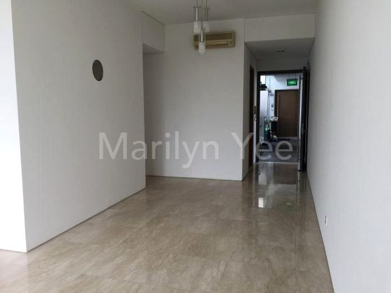 Entrance into dining and living (unfurnished)