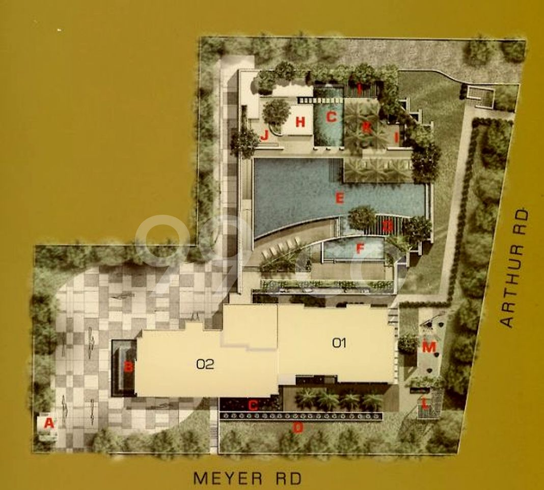 The View @ Meyer Condo Site Plan in Marine Parade by Guocoland Limited