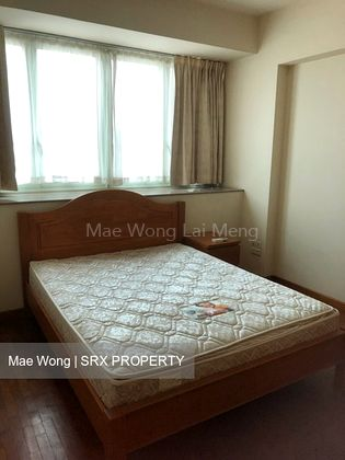 Master room with Queen size bed & mattress