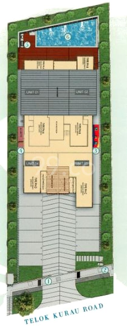 Residence 66 Condo Site Plan in Bedok by Fragrance Homes Pte Ltd