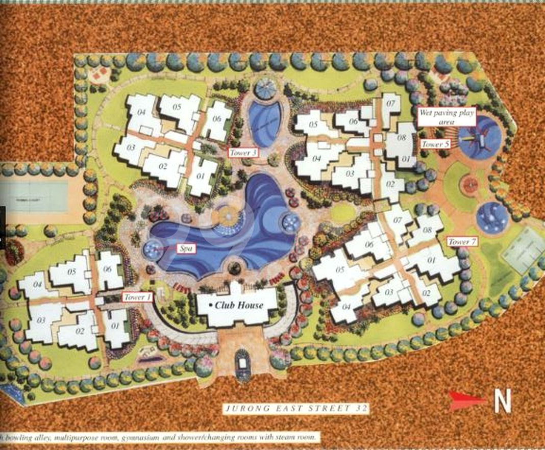The Mayfair Condo Site Plan in Jurong East by Ssl (Jurong East) Pte Ltd (Keppel Land)