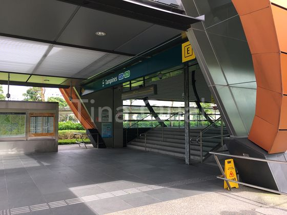 Walking distance to downtown Tampines MRT Station