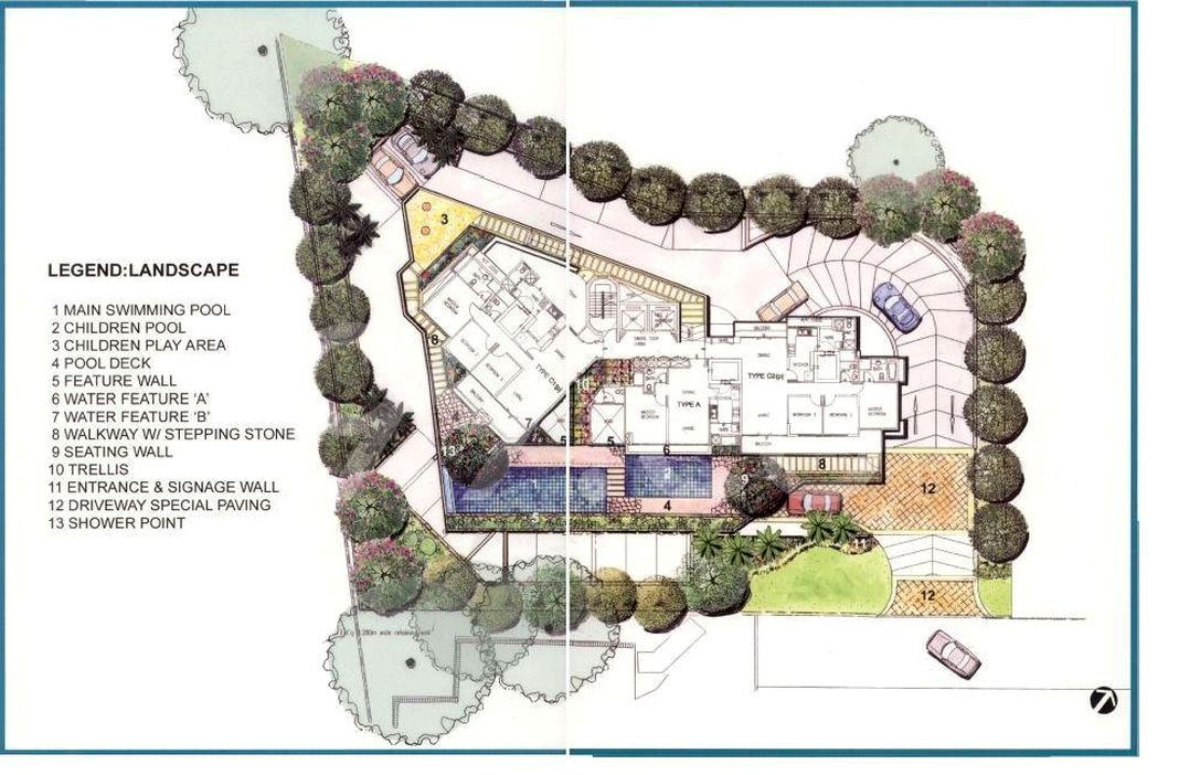 Scenic Heights Condo Site Plan in Novena by Balestier Realty Pte Ltd