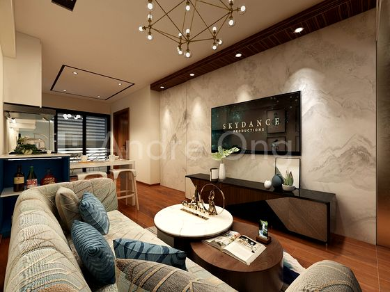 ID Living and Dining Area Concept 2