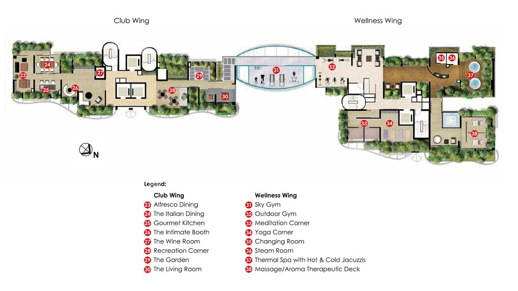 Lincoln Suites Condo Site Plan in Novena by Phileap Pte Ltd