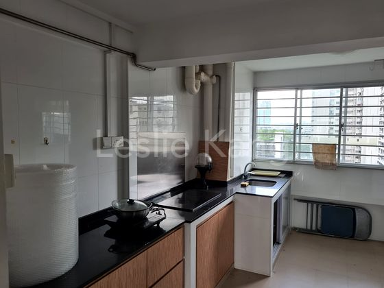 Kitchen- Good condition CounterTop and cabinentry