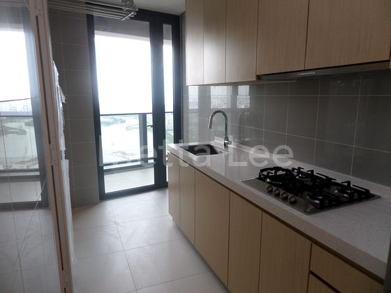 Wet Kitchen with open views, fitted with stoves and sinks.