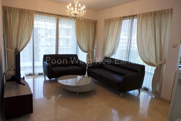 Living Room with Balcony in front