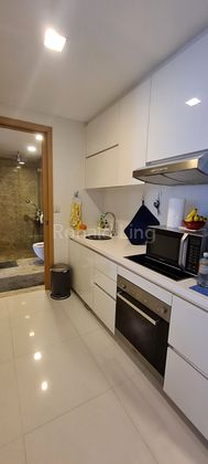Kitchen with bathroom access