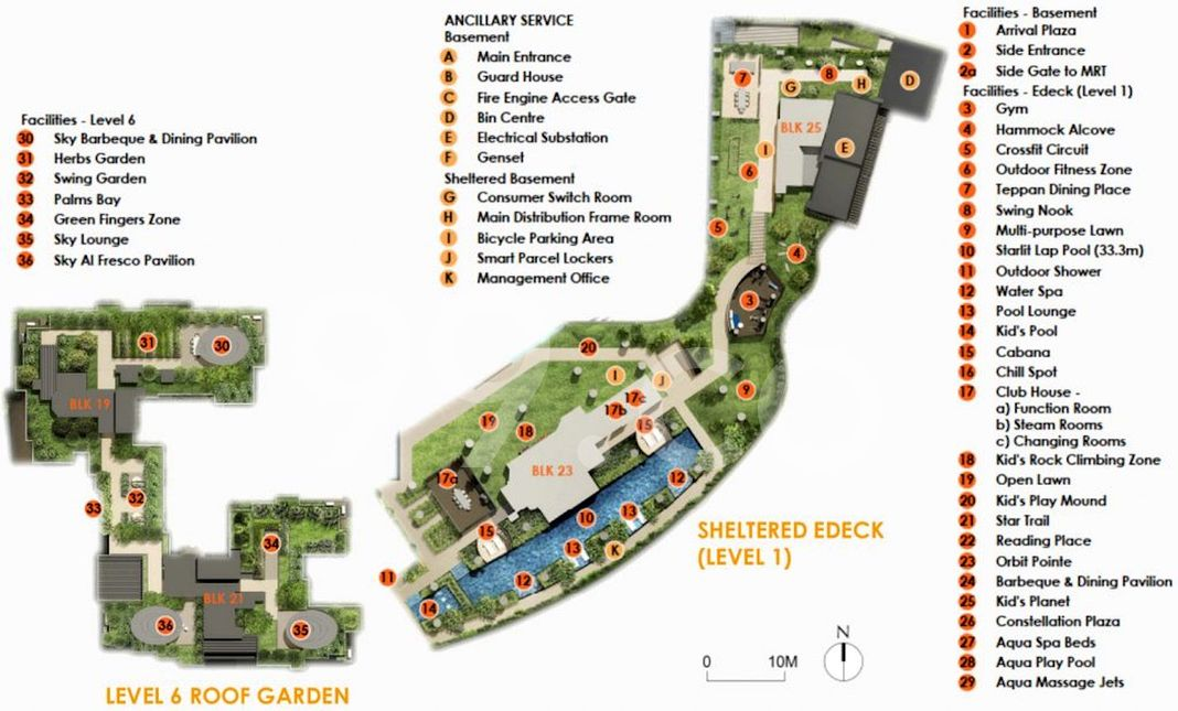 The Antares Condo Site Plan in Geylang by FSKH Development