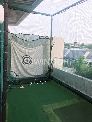 Private golfing at roof top