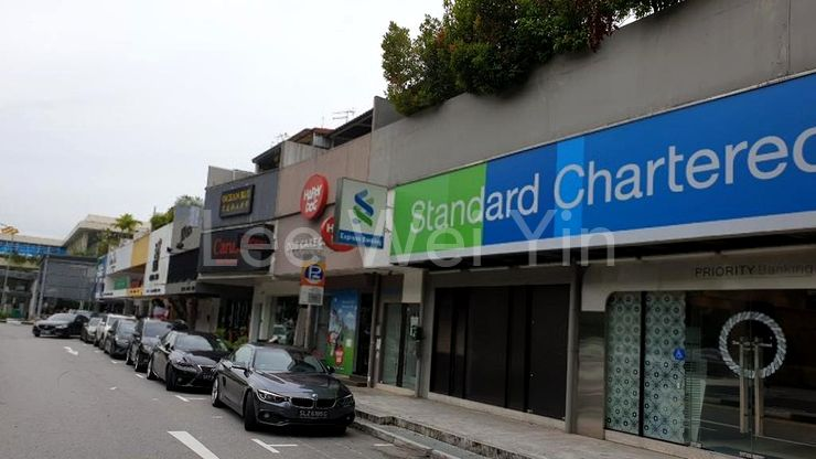 shops just next to condo