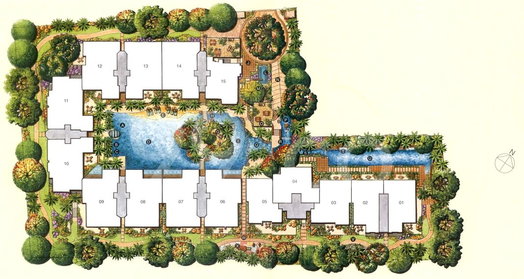 Malvern Springs Condo Site Plan in Marine Parade by Triplan Pte Ltd(Oub Centre Limited)