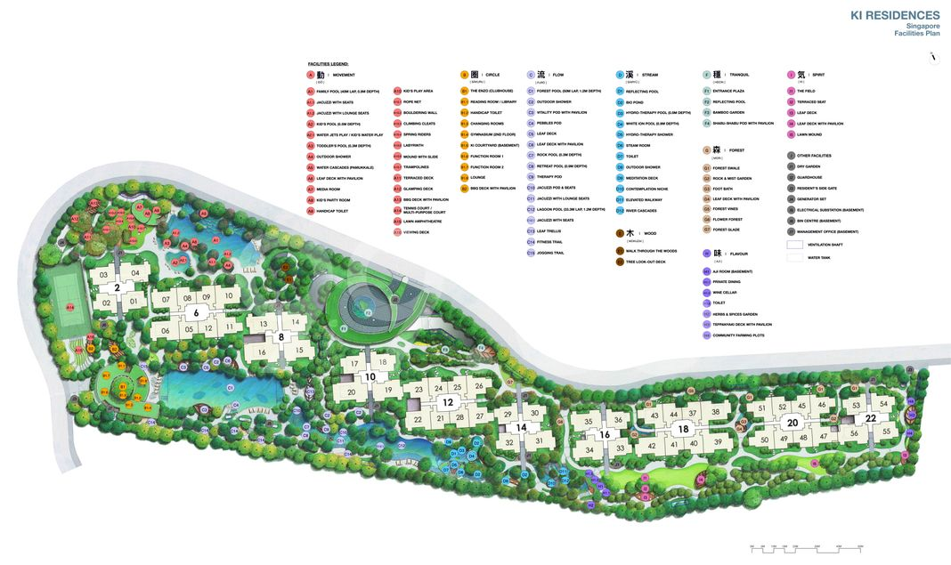 Ki Residences At Brookvale Condo Site Plan in Clementi by Hoi Hup Sunway Clementi Pte Ltd