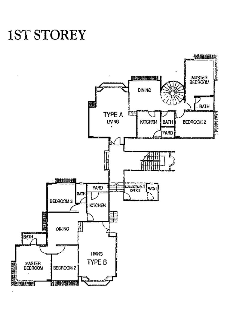 Affluence Court Condo Elevation Chart and Unit Distribution by Stack and Block Level