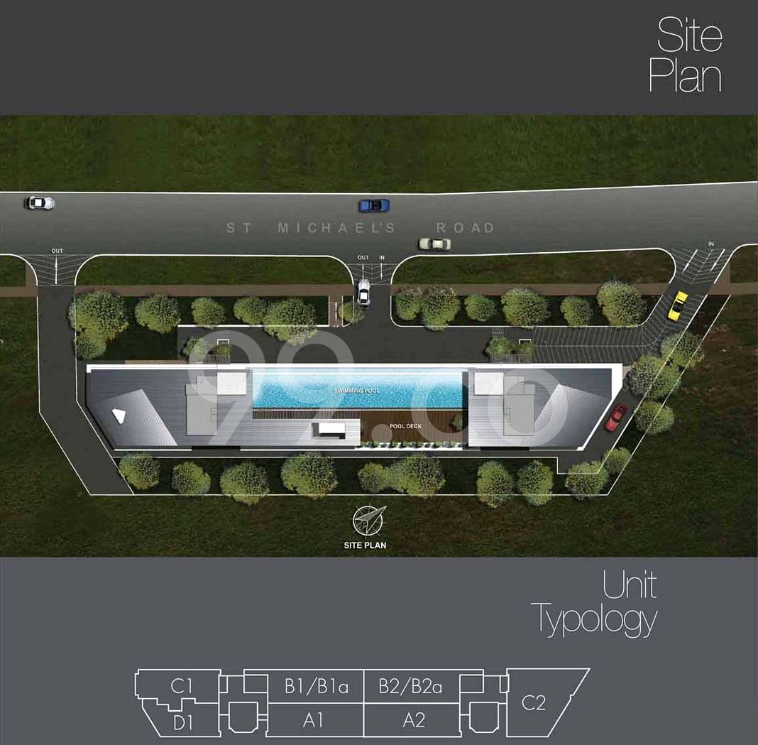 Airstream Condo Site Plan in Kallang by Millennium Homes (Singapore) Pte Ltd
