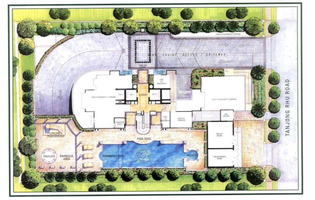 Palazzetto Condo Site Plan in Kallang by Heeton Investments Pte Ltd