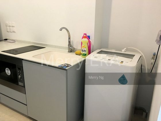 Washer area