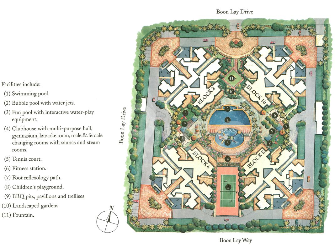 Summerdale Condo Site Plan in Jurong West by Boon Lay Executive Condominiums Pte Ltd