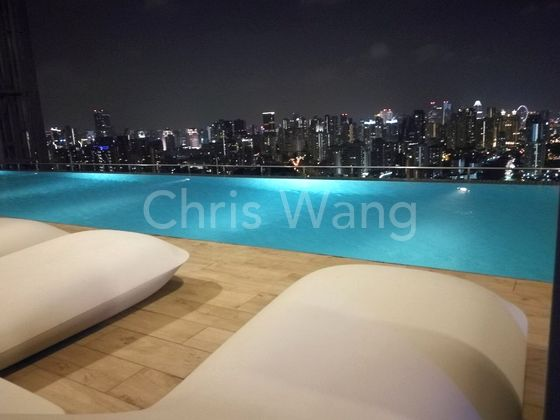 Star gazing on the pool deck and unwind
